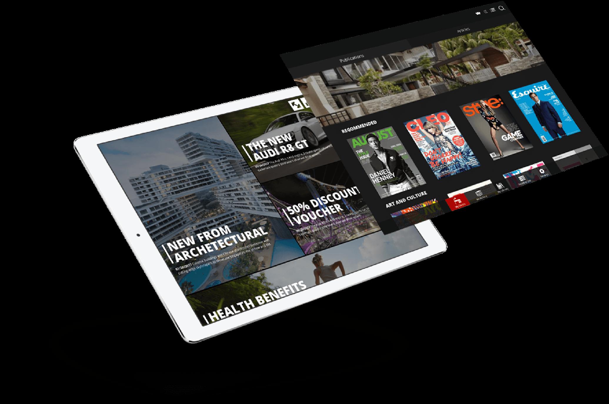 Frontline - IOS Mobile App Development - iPad